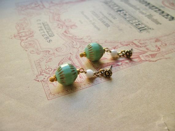 Mint Sorbet earrings...