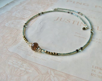 Meadow necklace in Earthy mix