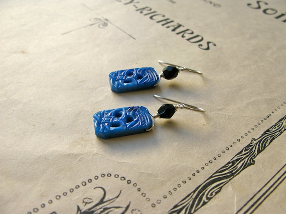 Deco Blue earrings
