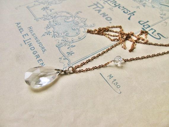 Meadow / Dewdrops necklac...
