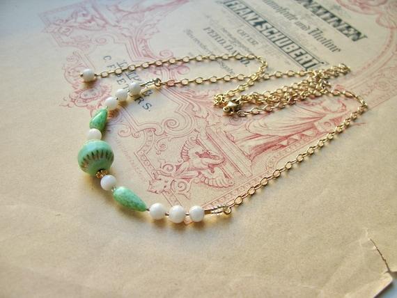 Mint Sorbet necklace...