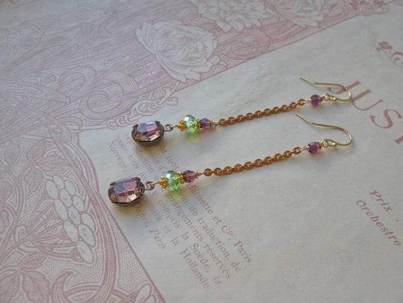 Mitzi Palazzo earrings...