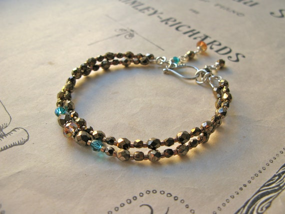 Emilienne 2-string bracel...