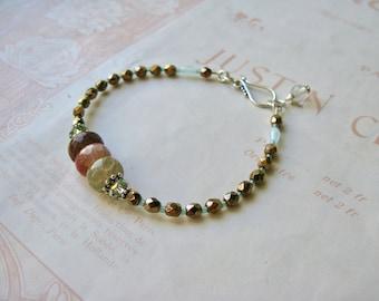 Meadow bracelet Earthy mix