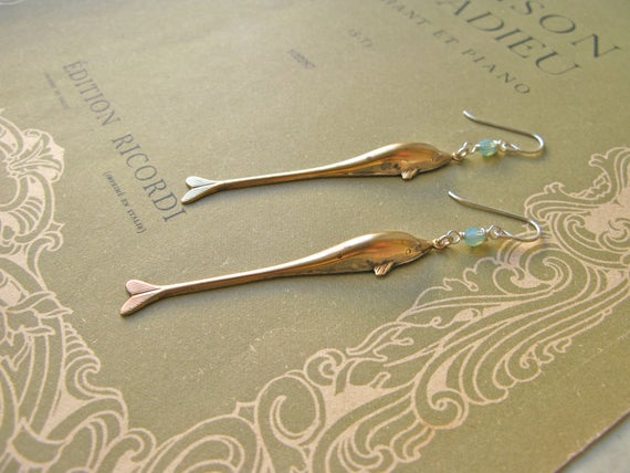 Atlantis Dolphin earrings...
