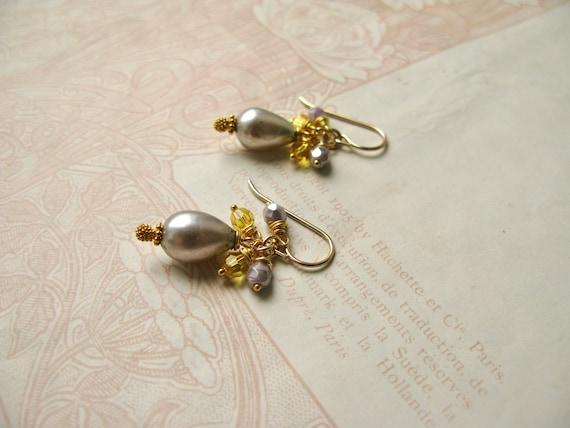 Meadow / Violette pearl e...