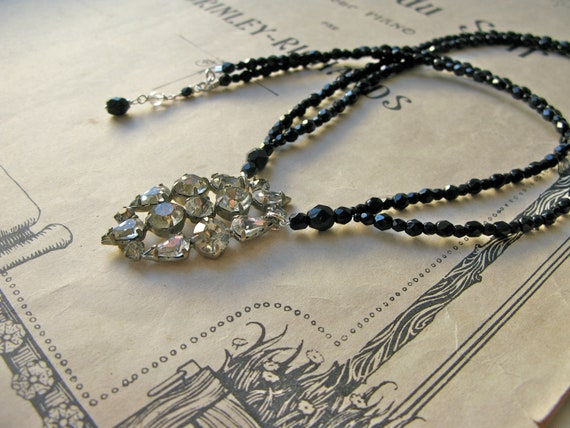 Deco Crystal necklace...