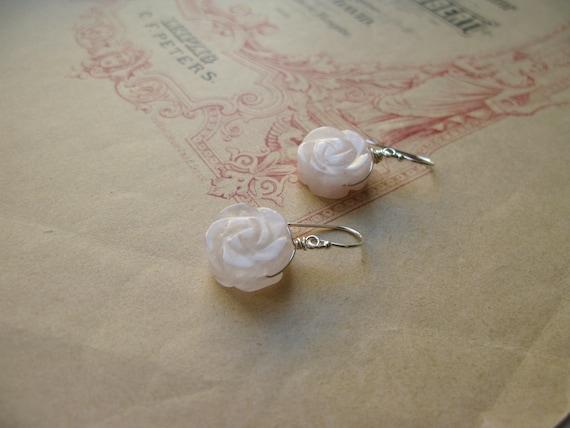 Blush Rose earrings...