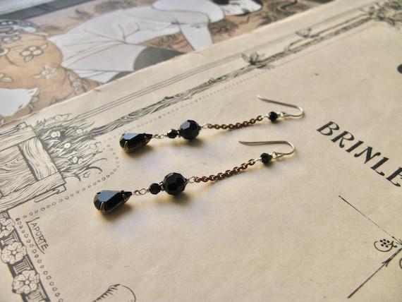 Mitzi Nocturne earrings...