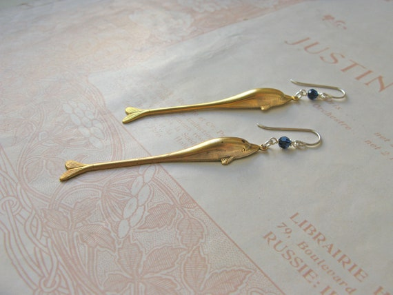Atlantis Dolphin earrings...
