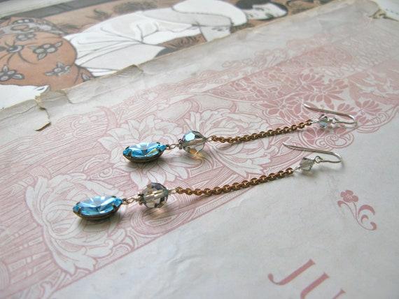 Mitzi Aquarius earrings...