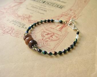 Meadow bracelet Chestnut mix