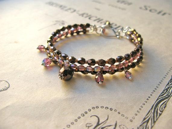 Emilienne 3-string bracel...