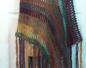 Light As A Feather  Crochet Poncho Pattern