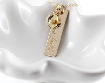 Gold mustard seed necklace - Faith jewelry - Matthew 17 20 - Faith of mustard seed - Bible verse necklace - Resin charm - Have faith