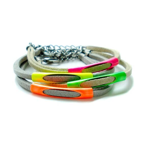 Neon Pipe Bracelet