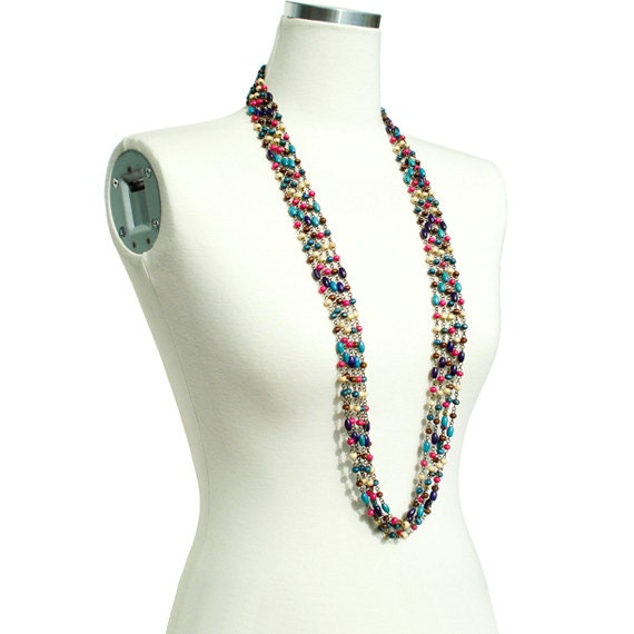 Bohemian Multi Long Necklace