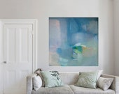 Abstract ART, giclée, blue, limited edition, 'ephemeral #24'