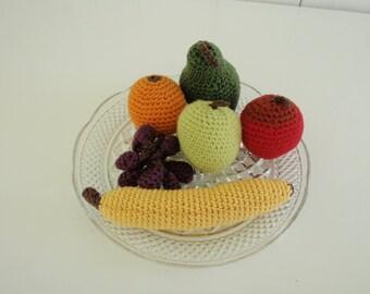Playfood fruit crochet