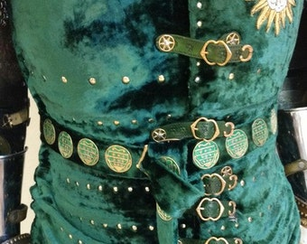 Medieval reproduction knights belt