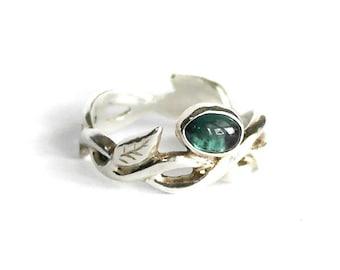 Secret Garden Tourmaline Ring