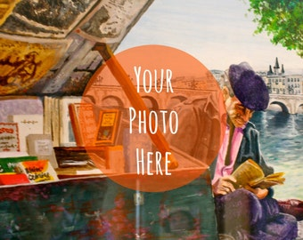 CUSTOM WATERCOLOR PAINTING from your photo