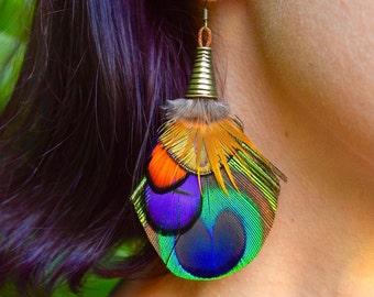 PEACOCK VIBE Peacock Earrings