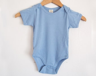 Organic Cotton Onesie 6-pack, New Baby Gift-Baby Shower-Baby Essentials-Eco Baby Clothing