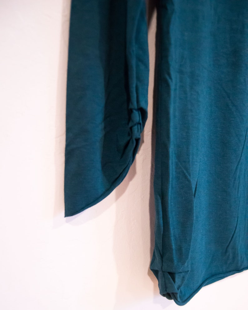 Long-Sleeve Tunic for Women Bowl Neck Organic Bamboo
