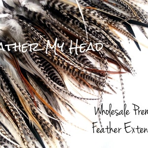 "25 Pc Loose  Feathers For Fly Tying And Hair Feathers 5/"" to 7/"" Long Med Length"