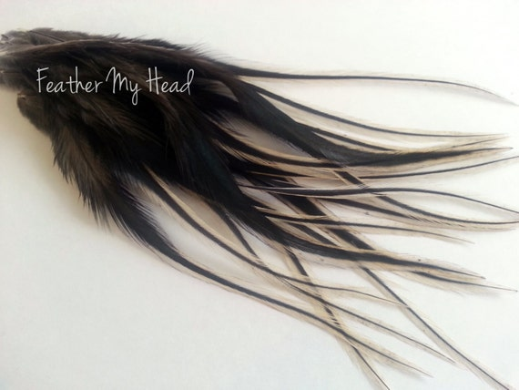 WHOLESALE Feather hair Extension Whiting Saddle BADGER salon pack DIY KIT TOOLS
