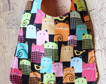 Toddler Bib - Reversible - 6 month and up