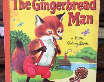 Vintage The Gingerbread Man Little Golden Book