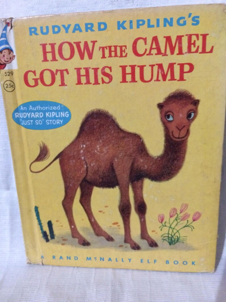 c613ac1978d Vintage How the Camel Got His Hump Rand McNally Elf Book | Etsy
