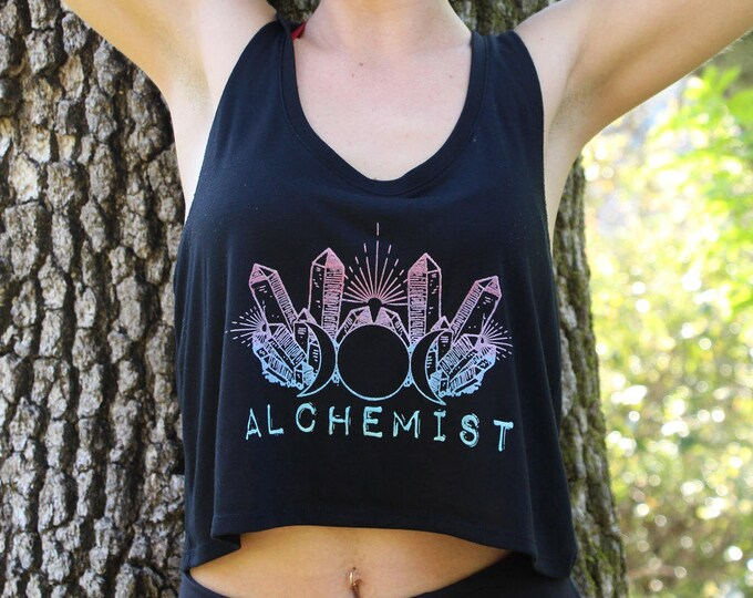 ALCHEMIST Flowy Crop Tank
