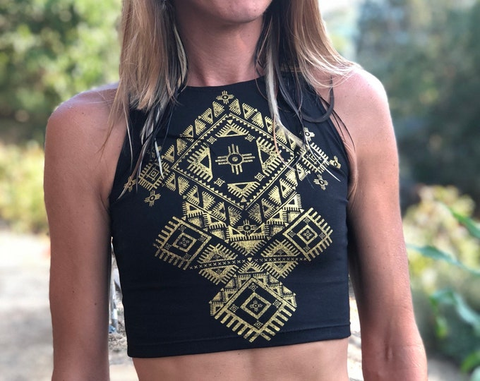 NOMAD Fitted Crop Tank