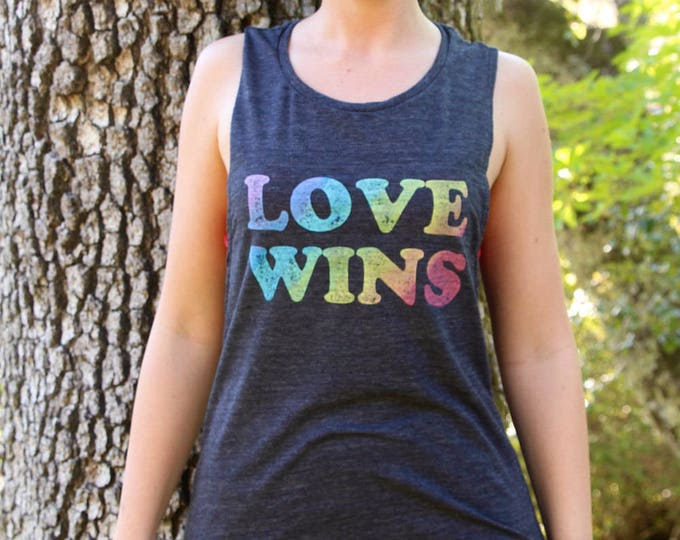 LOVE WINS Muscle Tee