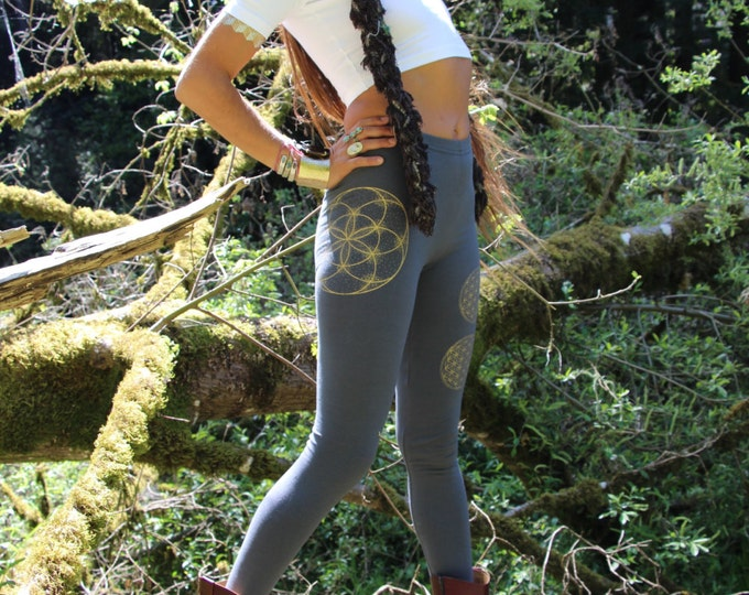 SEED OF LIFE Sacred Geometry Leggings