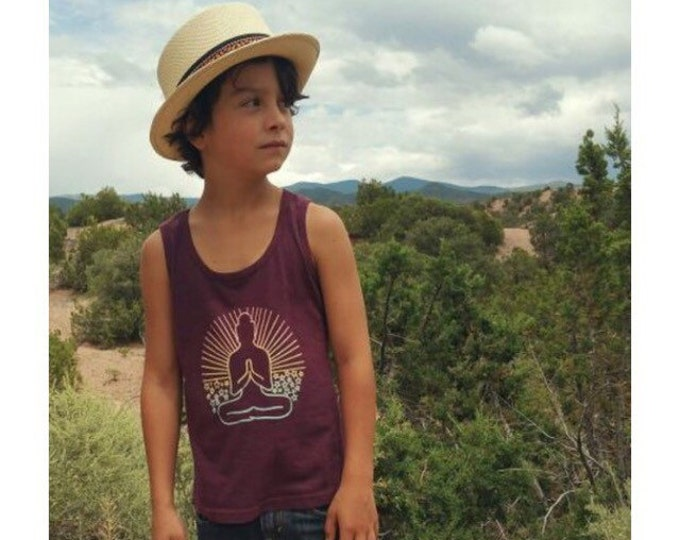 SUNSET BUDDHA Kids Tee or Tank