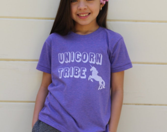 UNICORN TRIBE Kids Tee or Tank