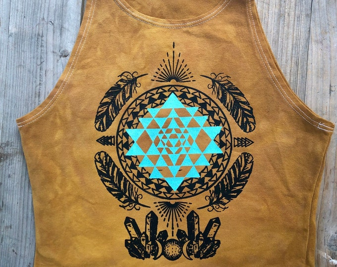 MOON MAGIC Fitted Crop Tank