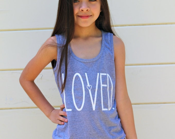 LOVED. Kids Tee or Tank