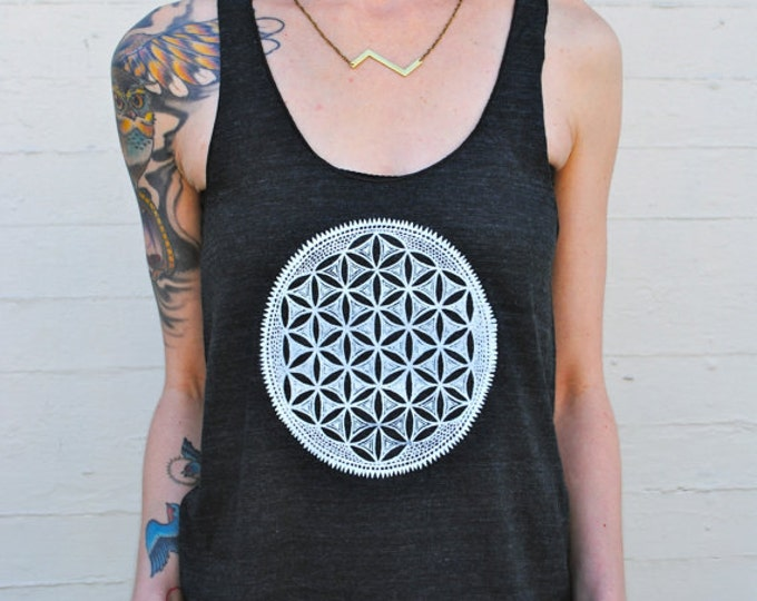 FLOWER OF LIFE Racerback Tank