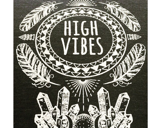 HIGH VIBES Muscle Tee