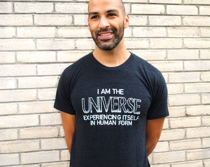I AM the UNIVERSE Unisex Tri-Blend Tee