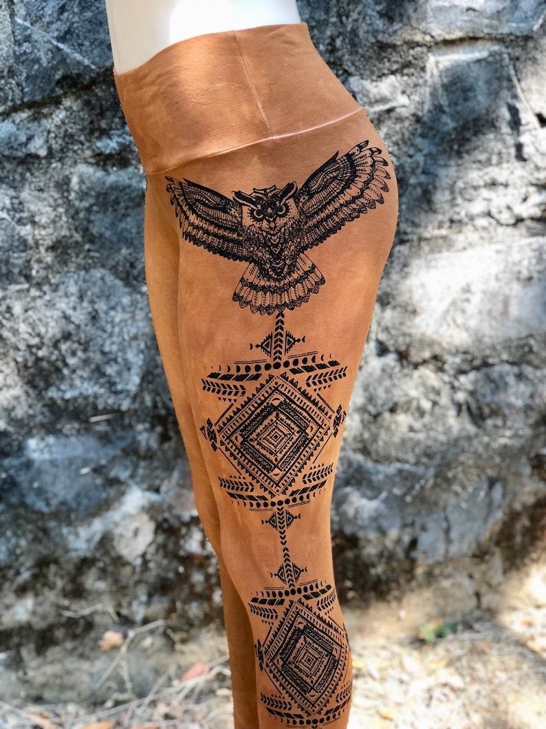 OWL TOTEM Leggings
