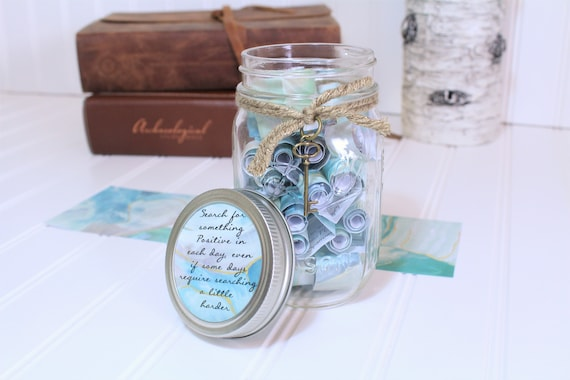 anxiety encouragement gift journey jar inspirational gift