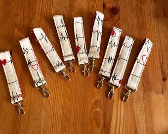 Key fobs, key chains, nurse