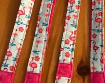 Flamingo lanyards, teacher lanyards