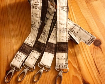 Music lanyards, teacher lanyards